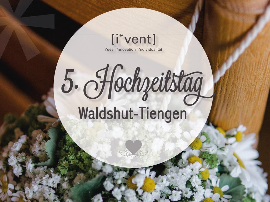 Unser 5 Hochzeitstag Waldshut Tiengen I Vent
